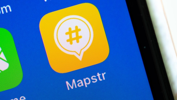 The navigation app Mapstr is an alternative to Google Maps.  You can use it to mark, label and share your favorite places with friends on a personal map.