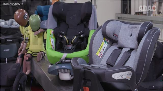 ADAC tests child seats: the most important results