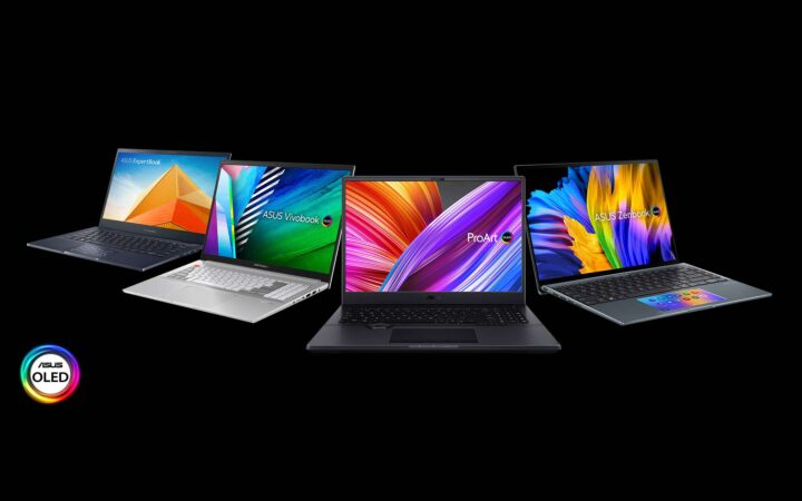 ASUS announces new laptops with OLED screens