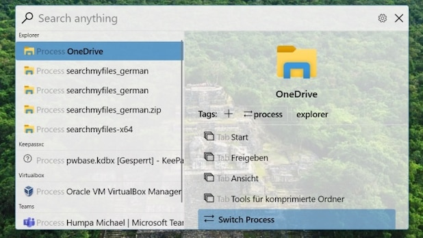 Fluent Search brings a touch of macOS to Windows.